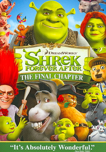 SHREK FOREVER AFTER BY MYERS,MIKE (DVD)